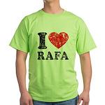 I (Heart) Rafa Green T-Shirt
