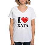 I (Heart) Rafa Women's V-Neck T-Shirt
