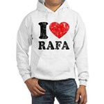 I (Heart) Rafa Hooded Sweatshirt