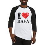 I (Heart) Rafa Baseball Jersey