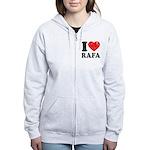 I (Heart) Rafa Women's Zip Hoodie