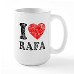 I (Heart) Rafa Large Mug