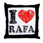 I (Heart) Rafa Throw Pillow