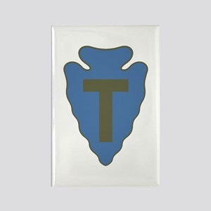 Arrowhead Rectangle Magnet