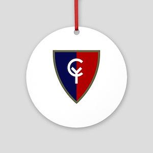 Cyclone Ornament (Round)