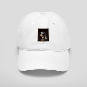 Vermeer Girl with Pearl Earring Cap