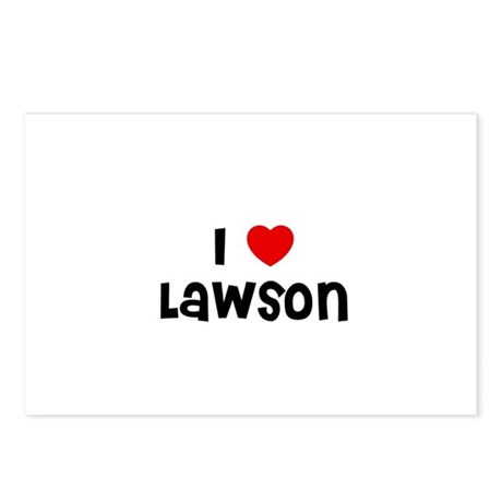 I * Lawson Postcards (Package of 8)