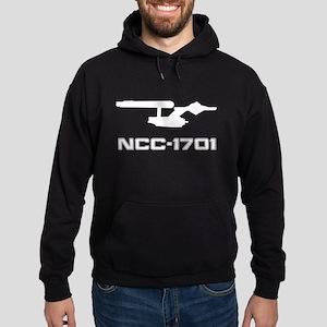 NCC-1701 Silhouette Hoodie (dark)