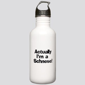 Actually I'm A Schnese Stainless Water Bottle 1.0L