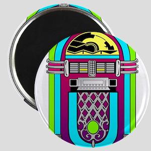 Vintage Rainbow Jukebox Magnets