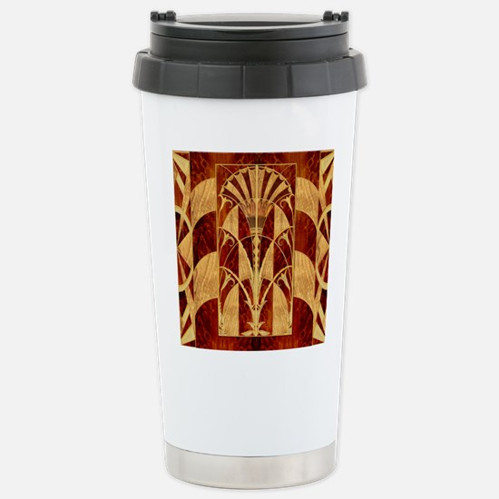Harvest Moons Art Deco Panel Travel Mug
