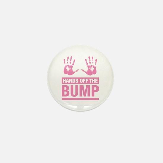 Hands off the Bump mini Button