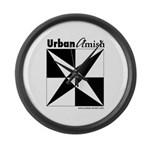 Urban Amish Large Wall Clock