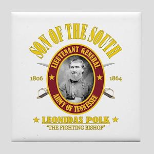 Leonidas Polk (SOTS) Tile Coaster