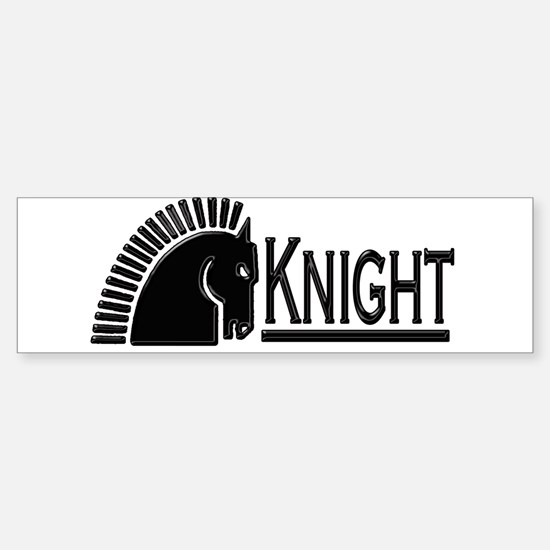 Knight Sticker (Bumper)