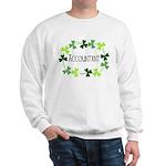 Accountant Shamrock Oval Sweatshirt