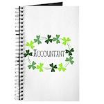 Accountant Shamrock Oval Journal