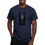 Nefertiti Men's Fitted T-Shirt (dark)