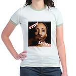 Stop Lying Jr. Ringer T-Shirt