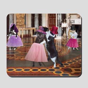 Ballroom Cats Mousepad
