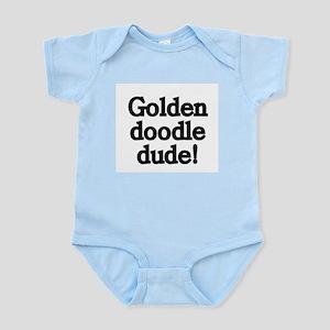 Goldendoodle Dude Infant Bodysuit