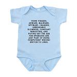 Think viruses... Infant Bodysuit