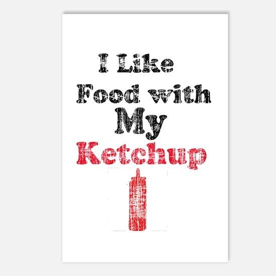 Vintage Ketchup Humor 1 Postcards (Package of 8)