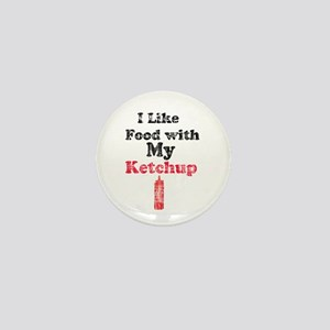 Vintage Ketchup Humor 1 Mini Button