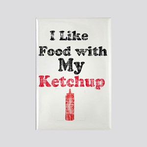 Vintage Ketchup Humor 1 Rectangle Magnet