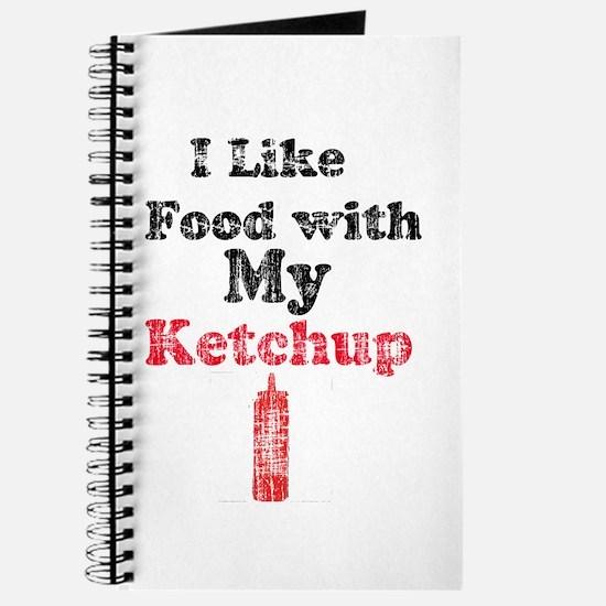 Vintage Ketchup Humor 1 Journal