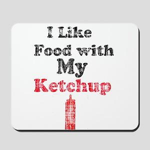 Vintage Ketchup Humor 1 Mousepad