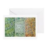 Siochain (Peace) Greeting Card