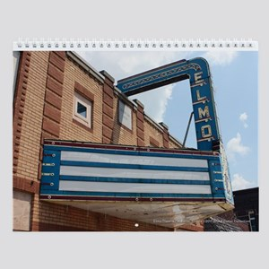 Small Town Illinois Theaters Wall Calendar