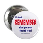 """Remember the Election 2.25"""" Button (100 pack)"""