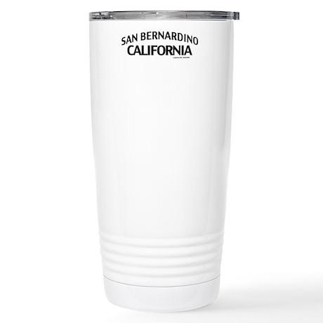 San Bernardino Stainless Steel Travel Mug
