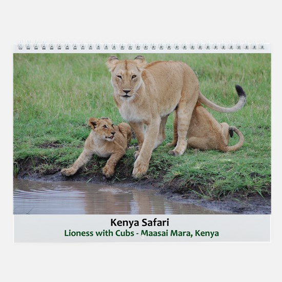 Kenya Safari Wall Calendar