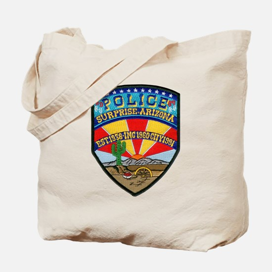 Surprise Police Tote Bag