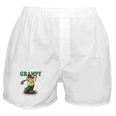 Golfer Grampy Boxer Shorts