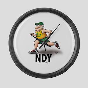 NDY Runner Large Wall Clock
