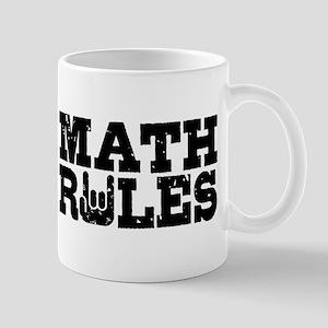 Math Rules Mug