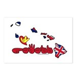 ILY Hawaii Postcards (Package of 8)