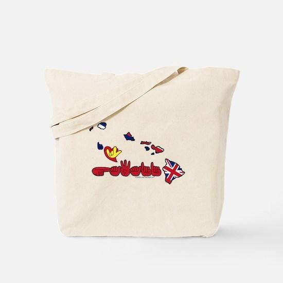 ILY Hawaii Tote Bag