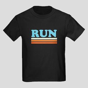 Retro RUN Kids Dark T-Shirt