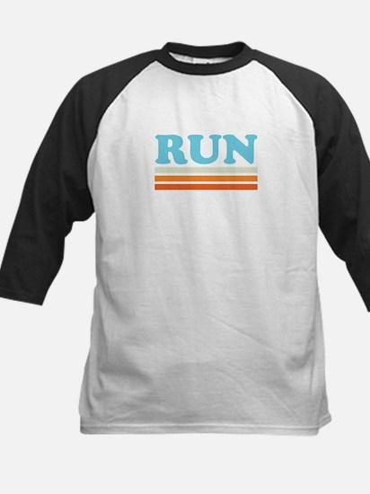 Retro RUN Kids Baseball Jersey