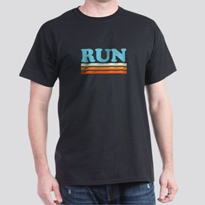 Retro RUN Dark T-Shirt