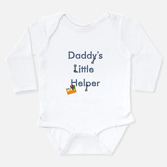 Daddys Little Helper Long Sleeve Infant Bodysuit