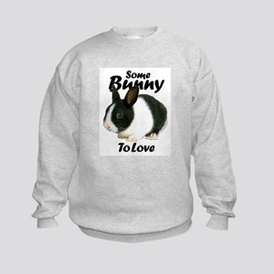 'Some Bunny To Love' Kids Sweatshirt