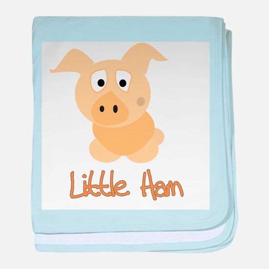 Little Ham baby blanket