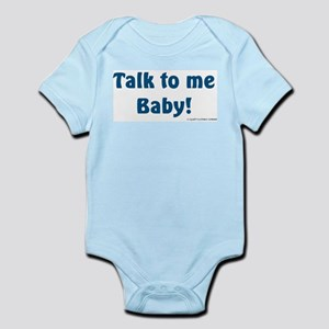 Talk to me baby! Infant Bodysuit