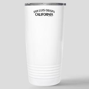 San Luis Obispo Stainless Steel Travel Mug